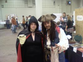 Jack Sparrow and nekozawa :P by Lovett91