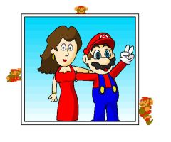 mario and pauline 2 by minimariodrawer