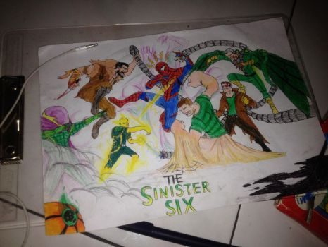 The Sinister Six by Julalesss