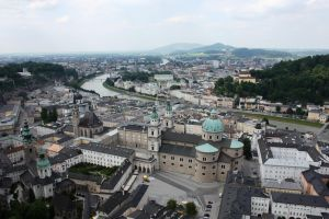 Above Salzburg by Phuppet