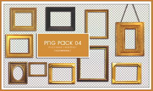 Picture Frame PNG PACK 04 by NWE0408