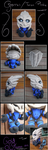 Turian/Garrus Plushie - Mass Effect by GoldFlareon