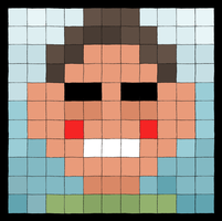 Betteo's Tile Portrait by Kubekubek
