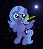 Luna in SPAAAAAAAACE! by Rex42