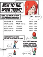 Employee Orientation AdComic by HeroGear