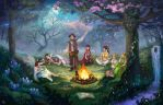 Fantasy Forest by t22t
