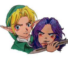 link and kafei by aloneintown
