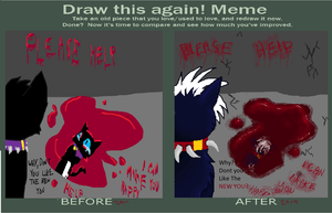 Before and After Scourge by Swift-The-Kitty
