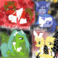 Alice of Pony Sacrifice by catz537