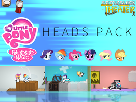 BattleBlock Theater - Pony Heads Pack by RevolutionGG