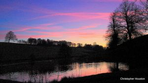 Nightfall  in Derbyshire by squareprismish