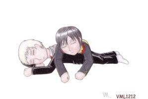 brothers napping by VML1212