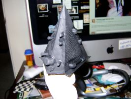 Pyramid Head helmet back by NetherStray