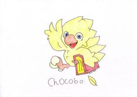 Chocobo 2 ! by DameAjisai
