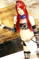 Erza Knightwalker by CrimeWaved