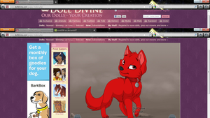 axel as a puppy by xion9299