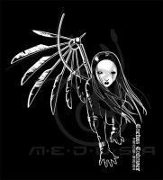 ANGEL-Cactus Cadaver t-shirt by Medusa-Dollmaker