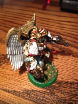 Sanguinary Guard Death Mask by Lloyld