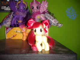 my completed applebloom by musical28