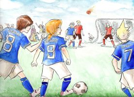 Final Fantasy football by imabubble