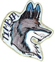 Timber Badge by Wolf-mutt