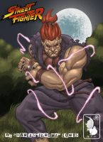 Akuma With Botched Lighting by daetymn