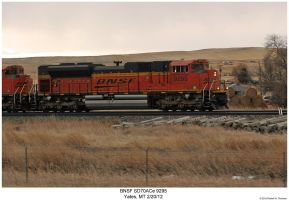 BNSF SD70ACe 9295 by hunter1828