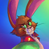 Novel!Bunnymund by Caco-holic