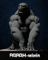 WIP Reptil preview front, 50mm by Papah-minis