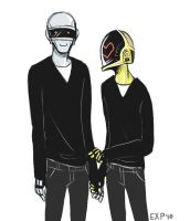 Something different - Daftpunk by EXP1BDS