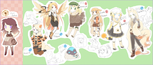 PKMN: Sketches by Mousu