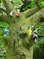 Pikmin - Climbing up the Tree by ClayPita