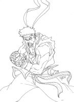 MarkerSketch: Ryu_Hadou by FooRay