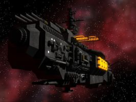 Alliance Battleship - Model by MazerRackham