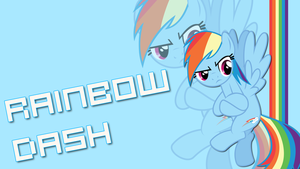 Rainbow Dash Poster by HaloTheDash
