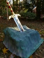 Sword in the stone by Ben3418