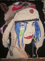 Tank Girl (today) by 3rdwoman
