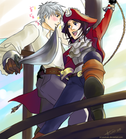 Pirate Otomen! by arcanehalo