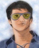 School Work: Bruce Lee-Colored by EggFoYoung