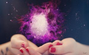 Holding a Universe by daintyish