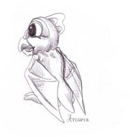 Little Pterodactyl by Arcuria