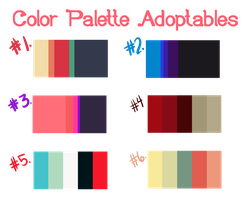 Color Palette Adopts ~ [CLOSED] by Evehist