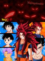 Dragon Ball Z The Saga Of Gods by Majingokuable