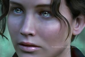 The Hunger Games: Katniss Everdeen by ThreshTheSky