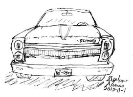 Alternate 1969 Plymouth Fury front end by stephdumas