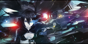 Black rock shooter signature by NickchouBG
