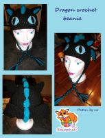 Dragon crochet beanie by Sasophie