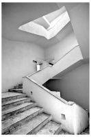 White Staircase by eDamak