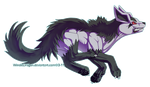 Mightyena by WindieDragon