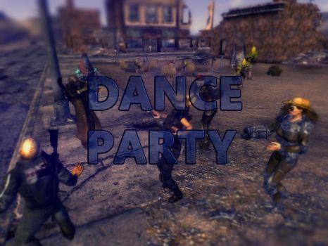 Dance Party Fallout New Vegas by bsix112